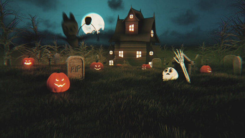 Fantastic Halloween Graphics: Flyers, Icons, Fonts, Videos - WP Daddy