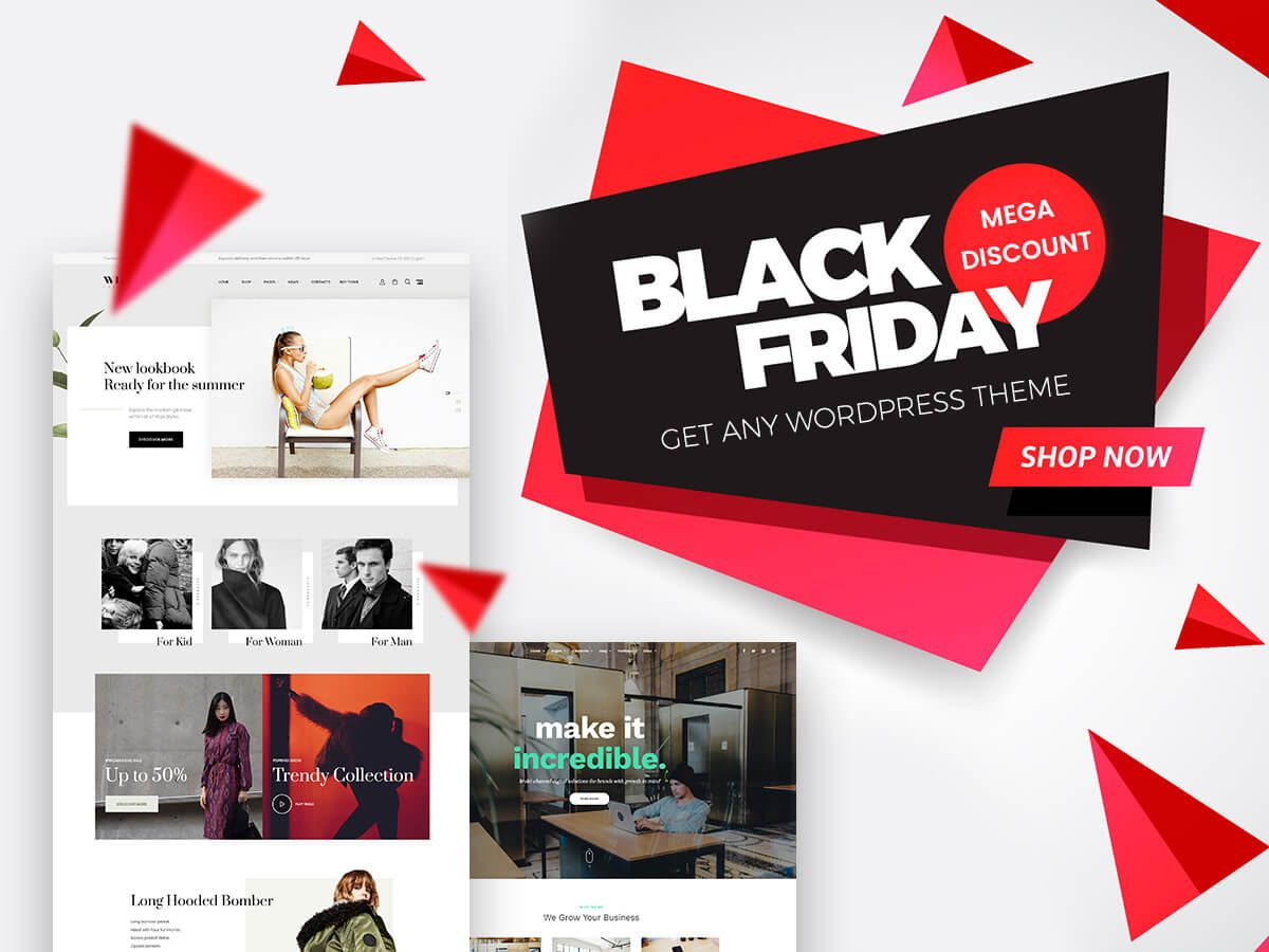 Black Friday Discounts Get any WordPress Theme and Save Your Costs