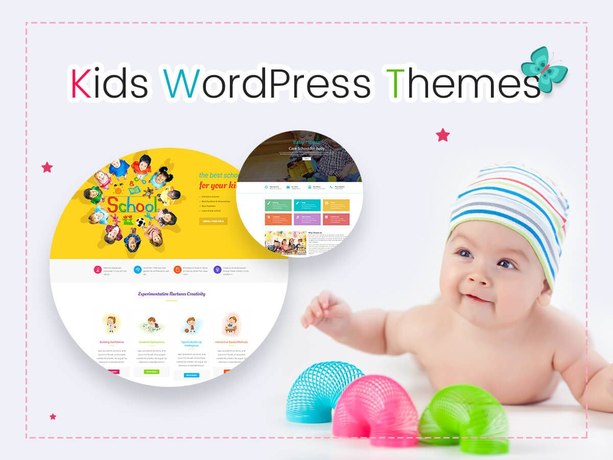 Kids WordPress Themes for Kindergartens, Pre-School Institutions, Charities and More