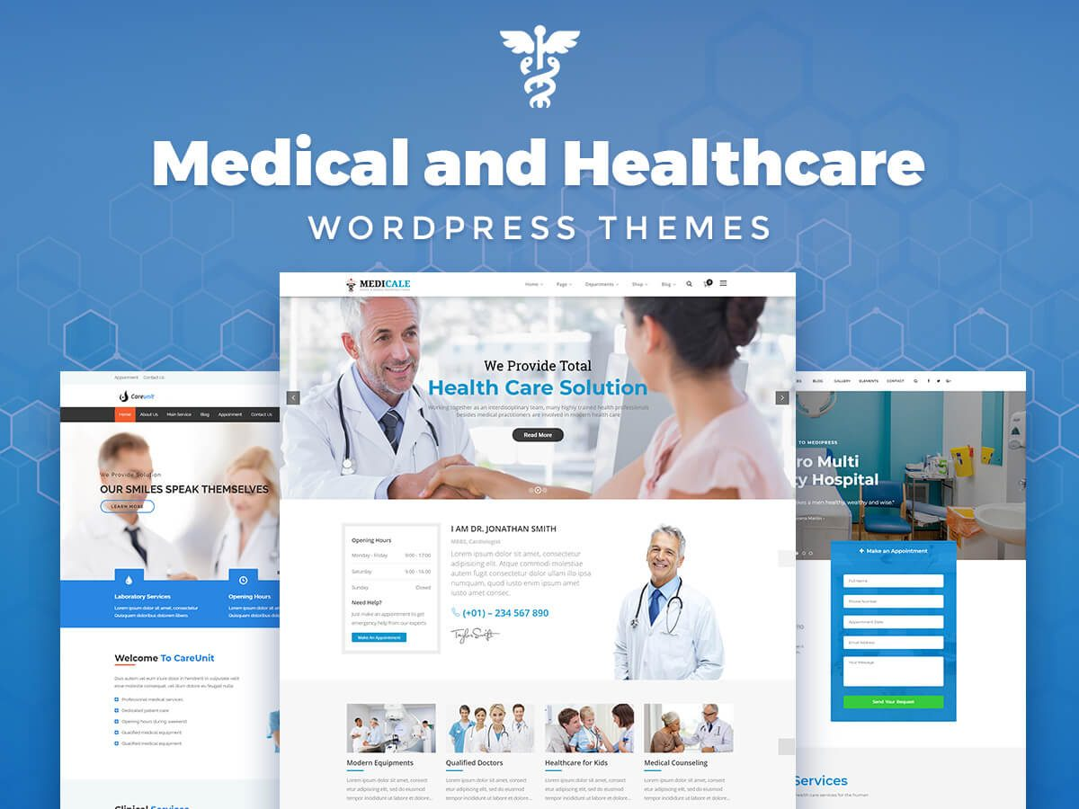 Medical and Healthcare WordPress Themes for Dentists, Surgeons, Therapeutists, and Other Doctors