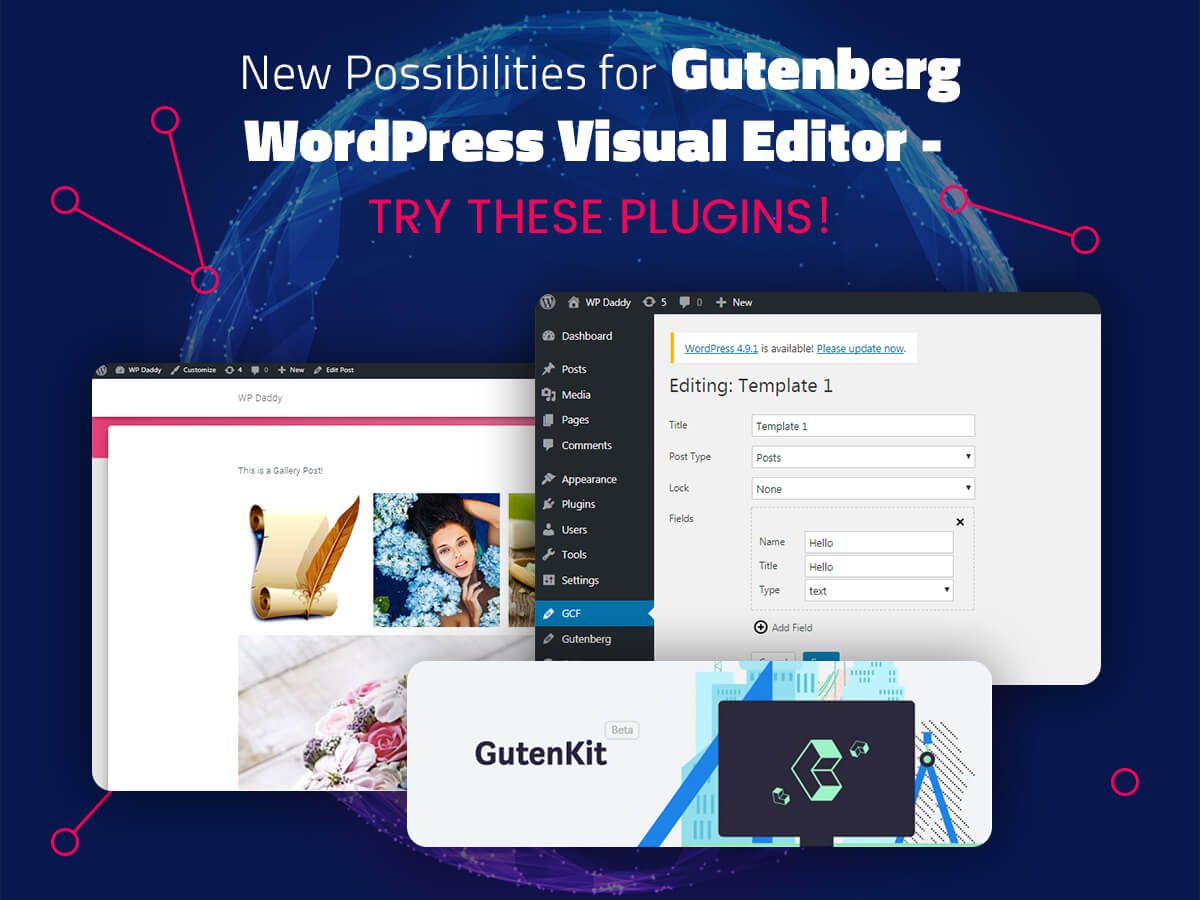 New Possibilities for Gutenberg WordPress Visual Editor - Try These Plugins!