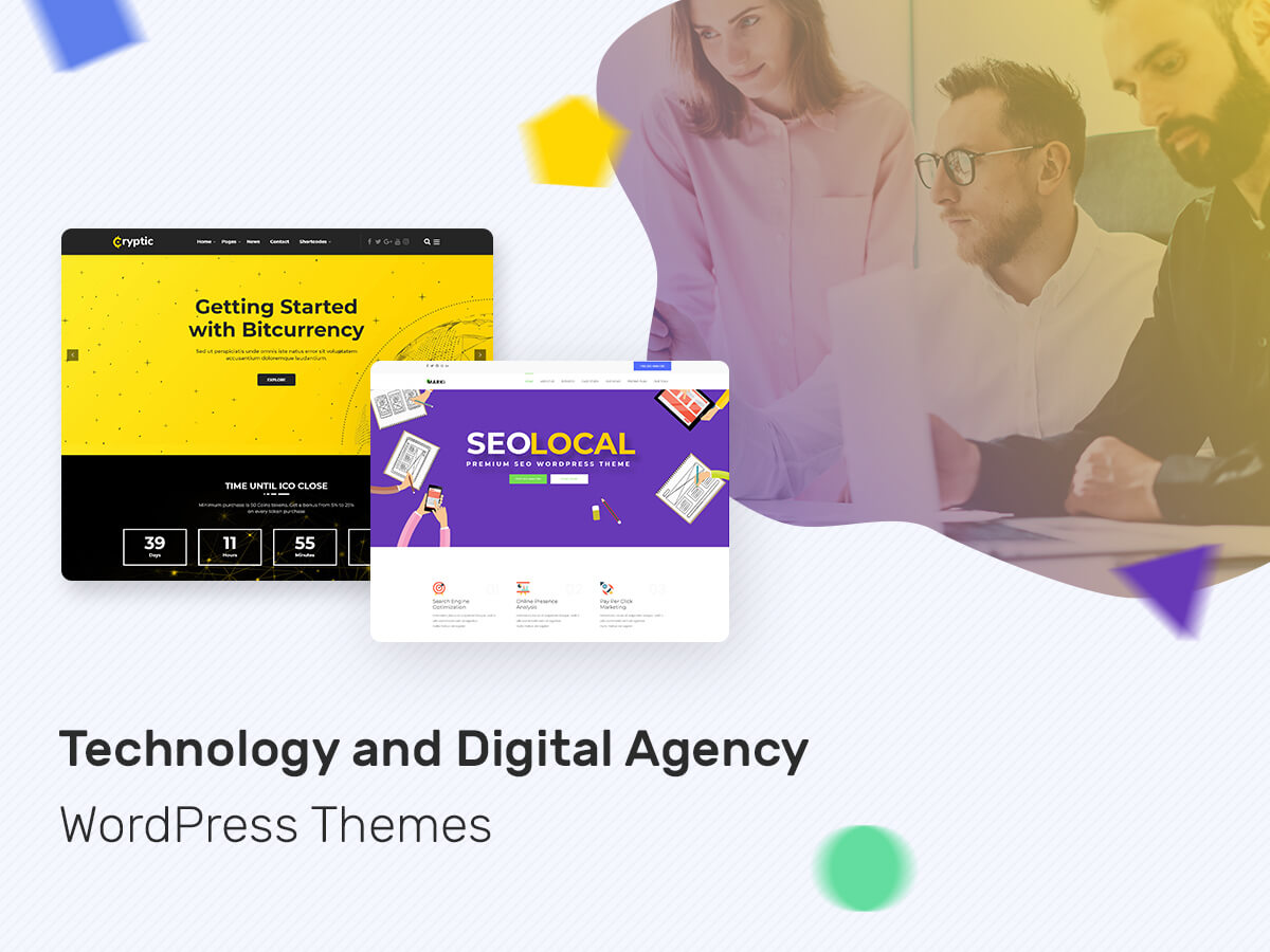Technology and Digital Agency WordPress Themes for Multiple Purposes