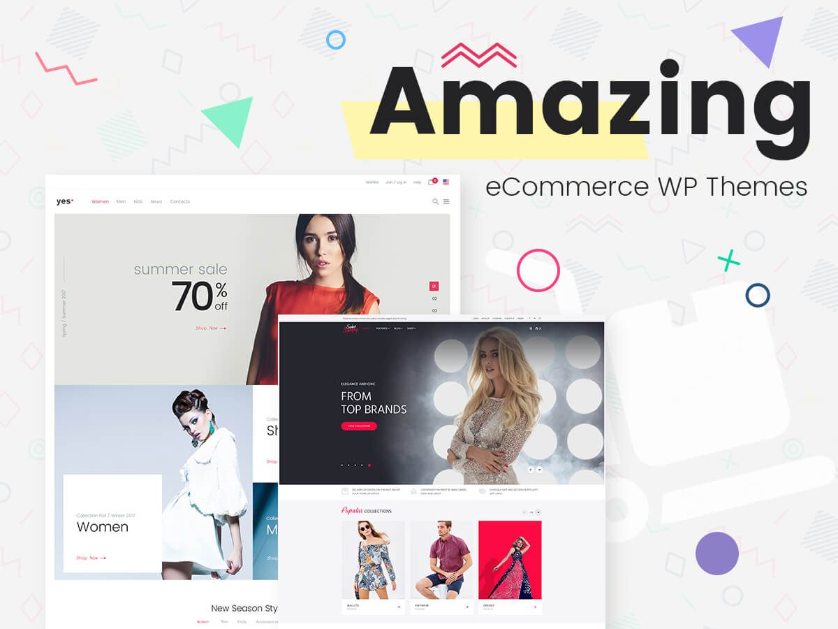 Amazing eCommerce WordPress Themes for Numerous Business Niches