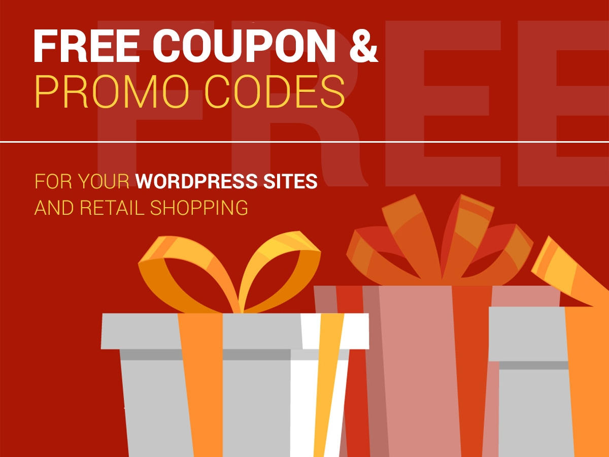 Free Coupon and Promo Codes-For-Your-WordPress-Sites-Retail-Shopping-February-2018