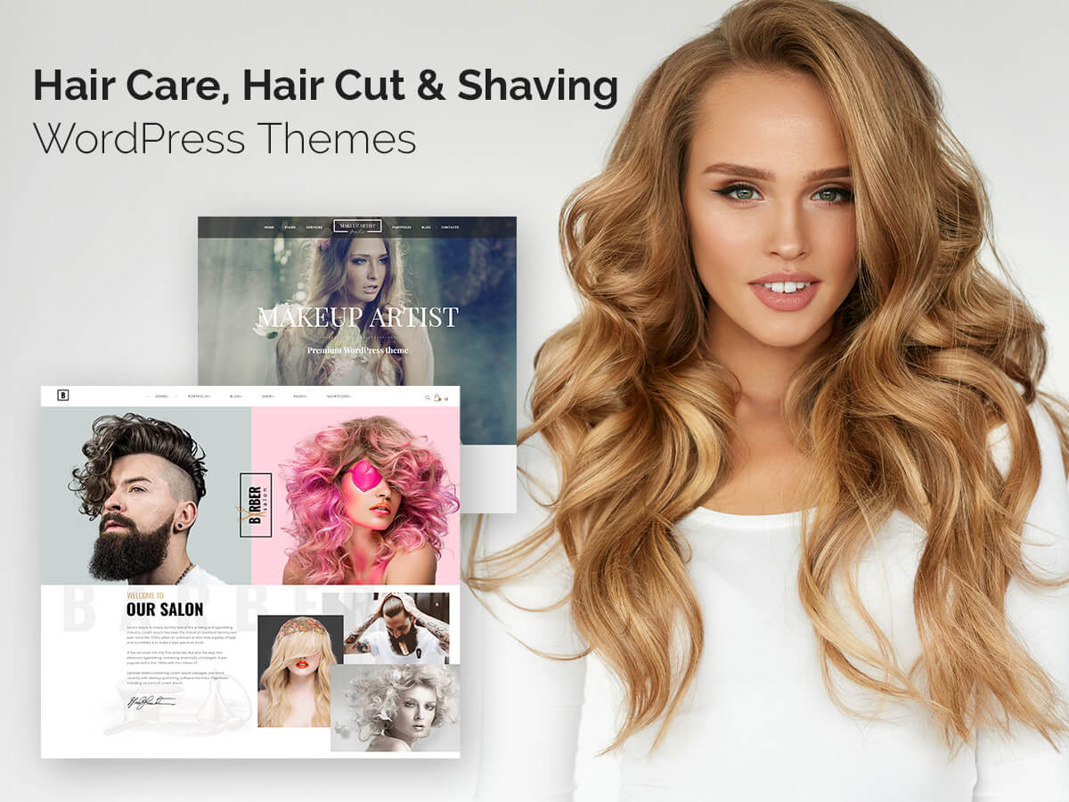 Hair Care, Hair Cut and Shaving WordPress Themes for Salons and Barber Shops