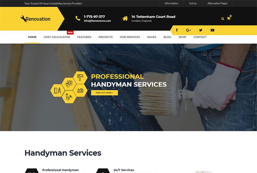 Plumbing and Handyman WordPress Themes - WP Daddy