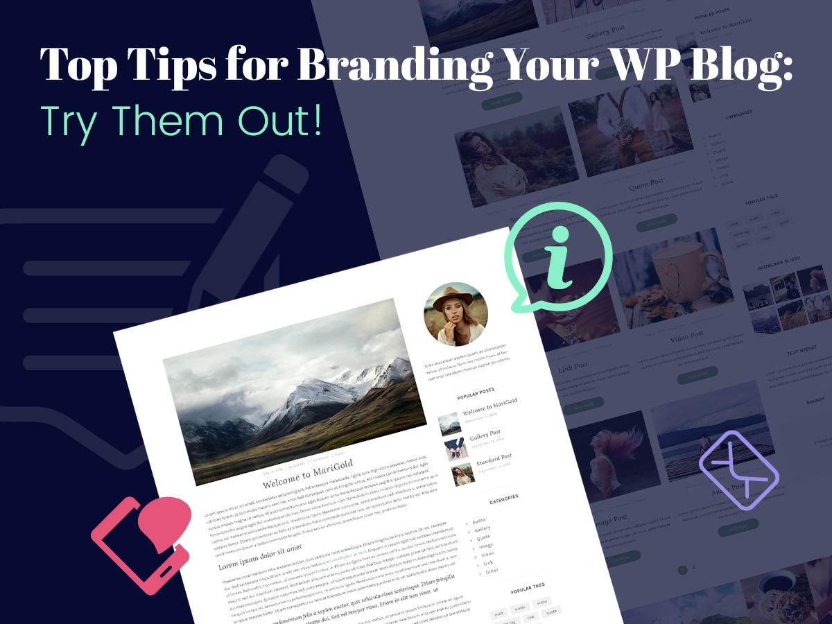 Top Tips for Branding Your WP Blog Try Them Out!