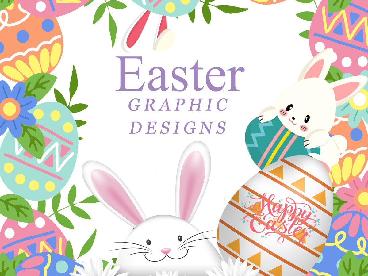 Awesome Easter Graphic Designs Collection (Icons, Banners, Flyers, and More)