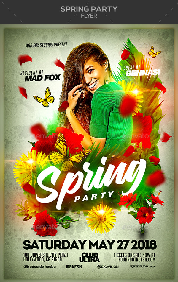 Spring Themed Graphics For Seasonal Designs  Wp Daddy