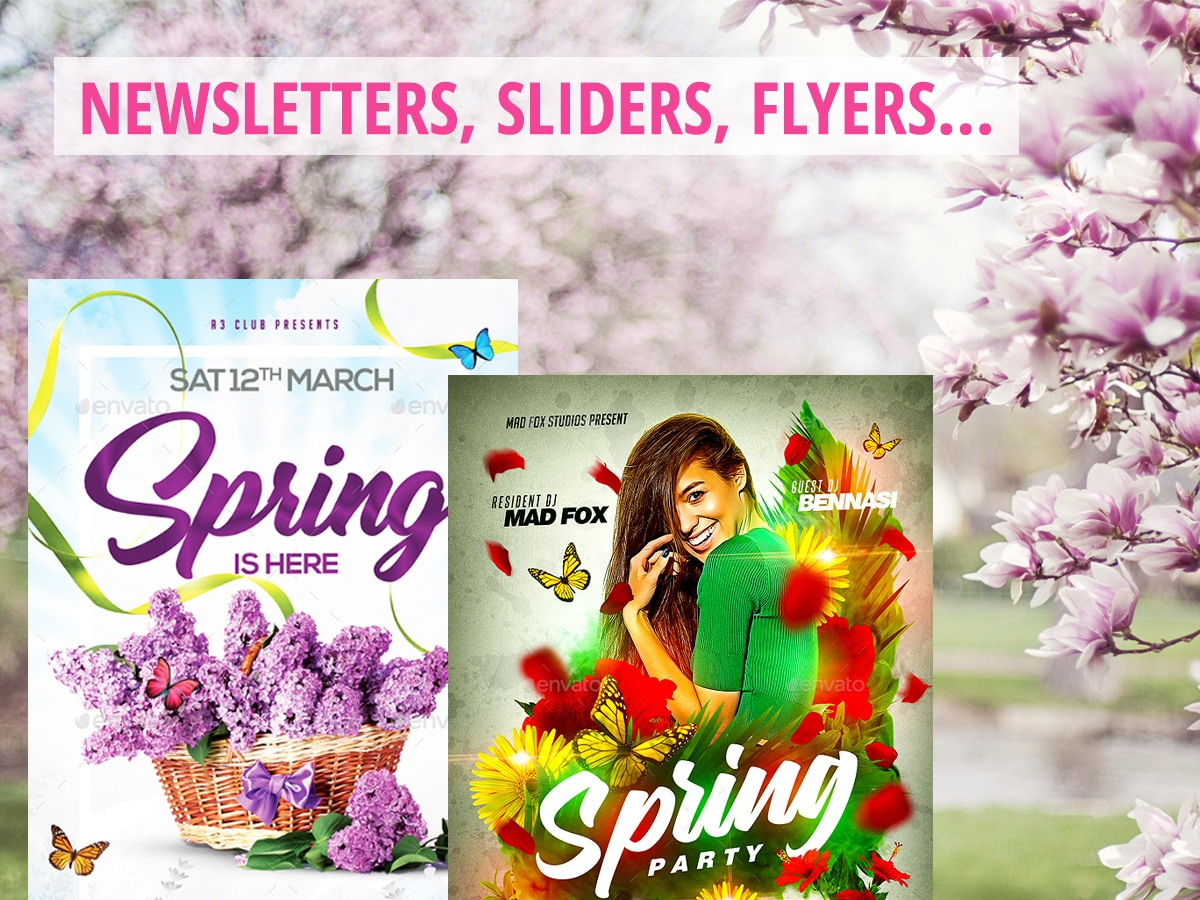 Spring-Themed-Graphics-for-Seasonal-Designs-Newsletters-Sliders-Flyers