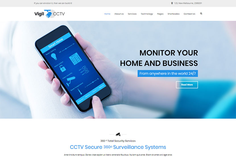 Security and Guardian WordPress Themes - WP Daddy