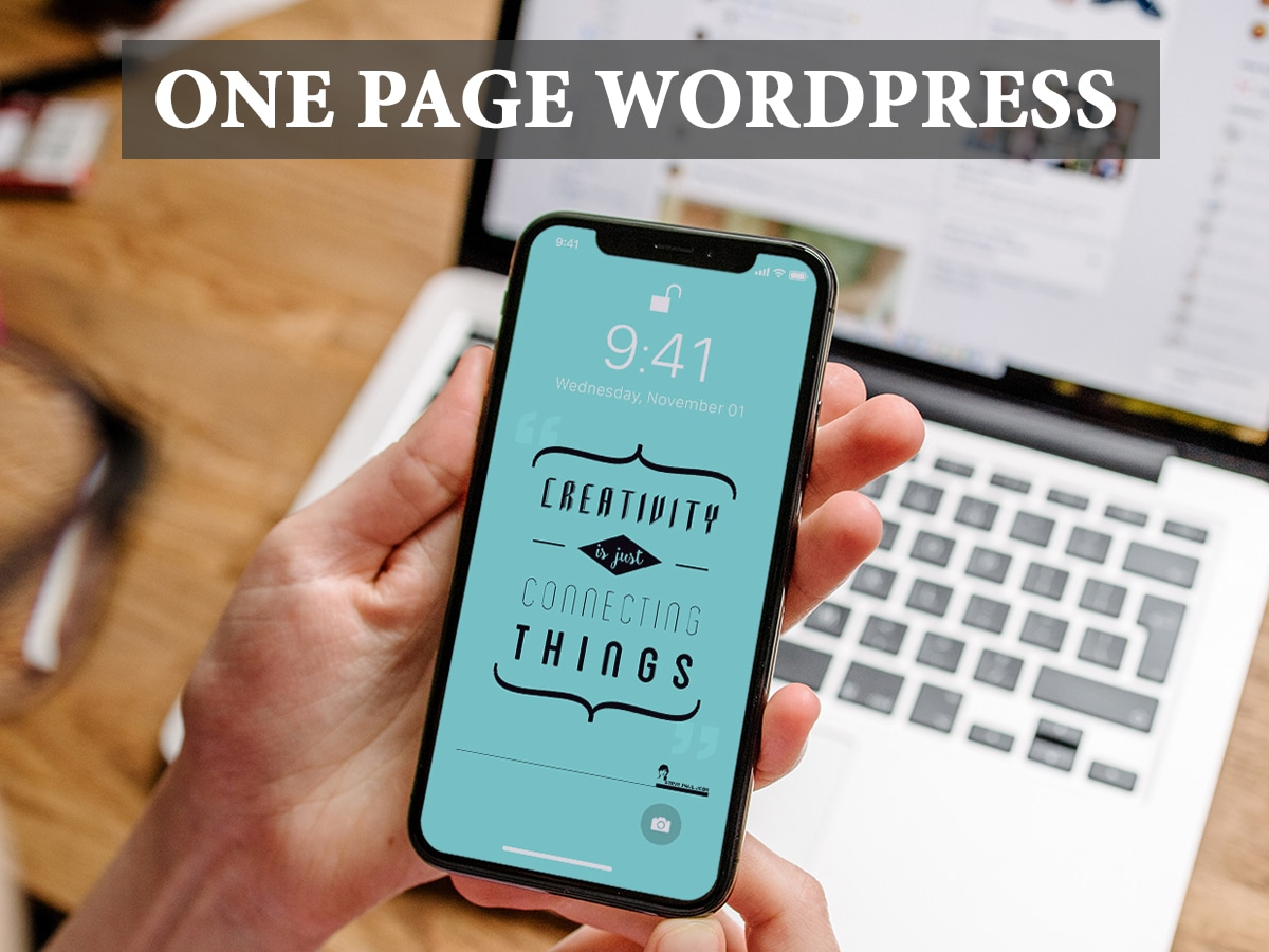 One-Page-WordPress-Themes-a-Modern-and-Creative-Collection