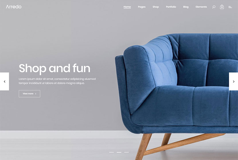 Interior and Furniture Design WordPress Themes - WP Daddy