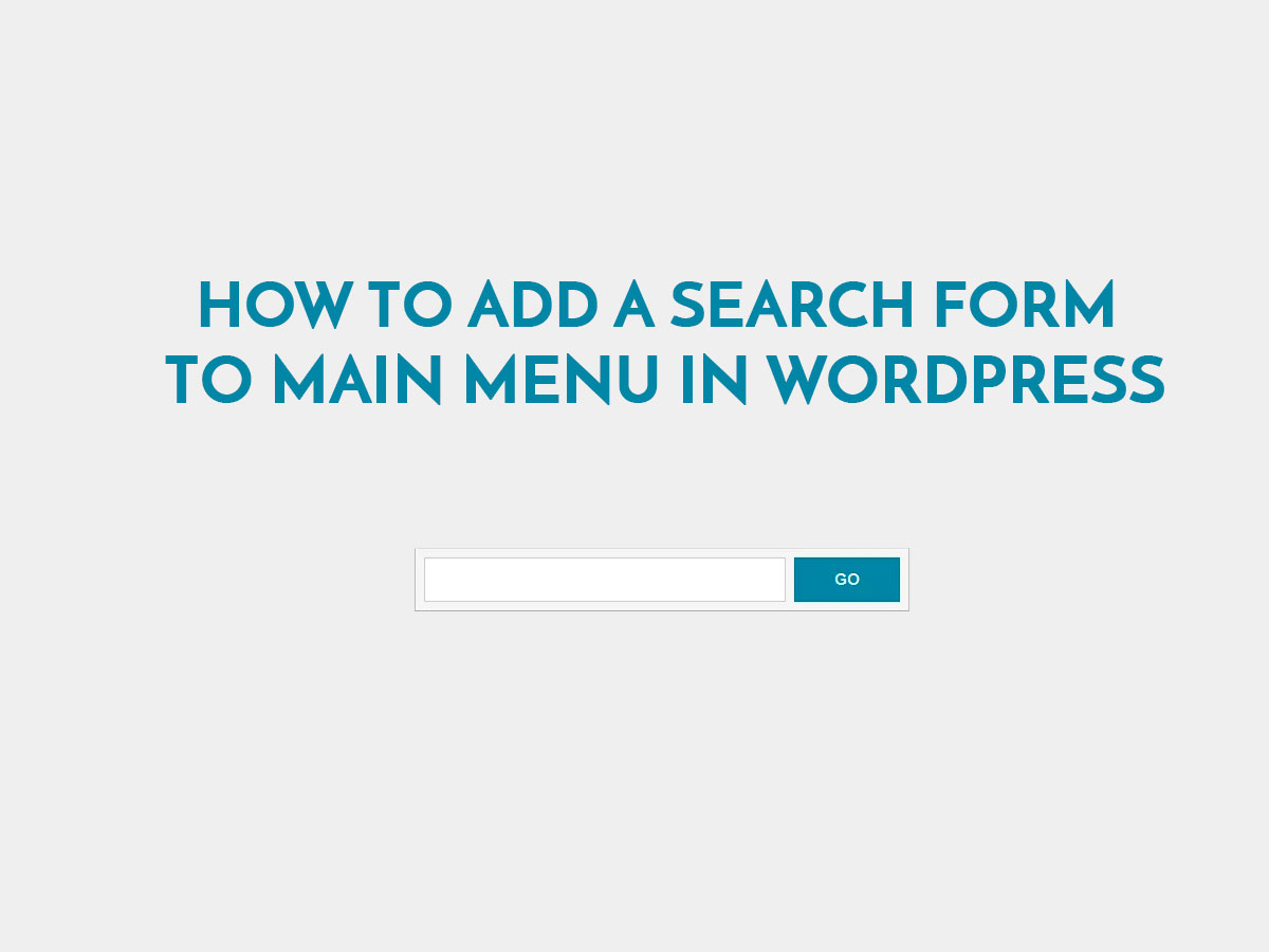 How-to-Add-a-Search-Form-To-Main-Menu-in-WordPress