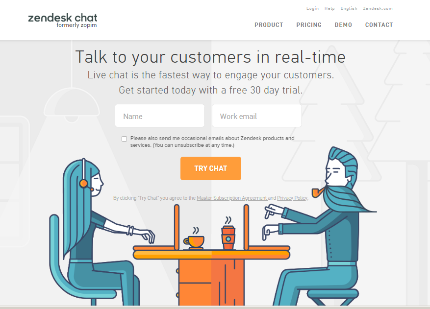 how to put live chat on your website