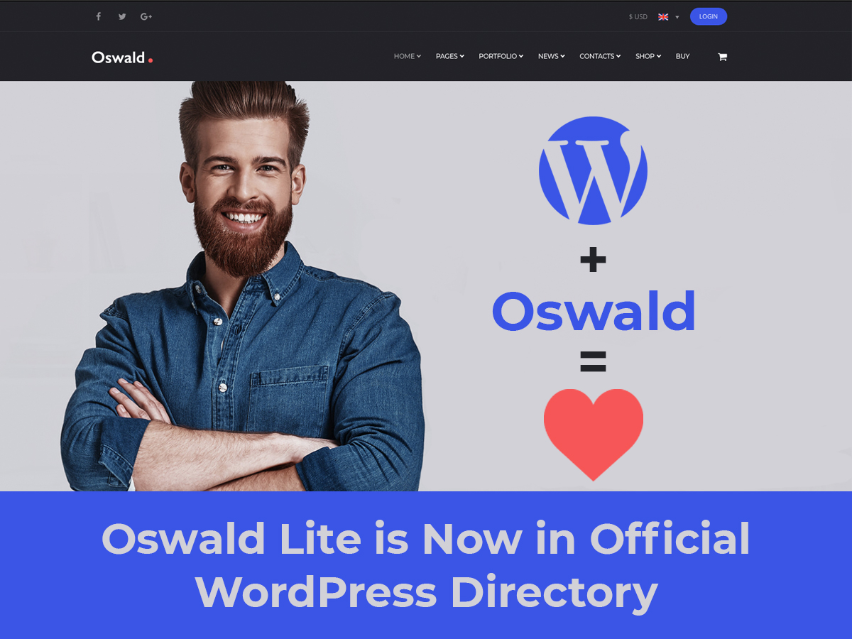 A Feather in The Cap Oswald Lite is Now in Official WordPress Directory