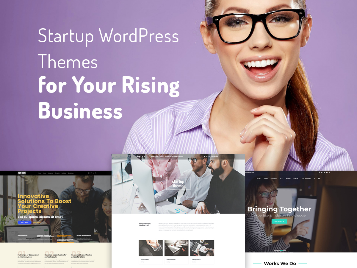 Startup WordPress Themes for Your Rising Business