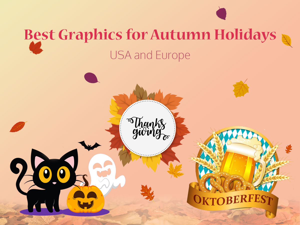 Best Graphics for Autumn Holidays - USA and Europe