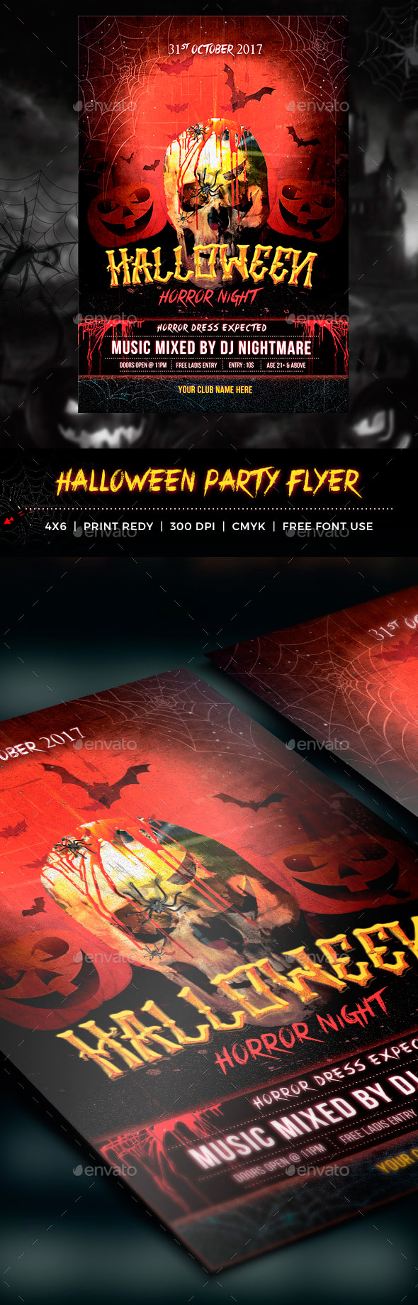 Halloween Flyers Banners And Ads October 2018 Wp Daddy