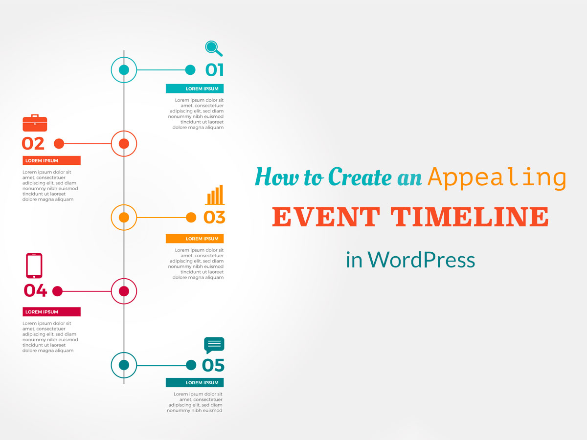How to Create an Appealing Event Timeline in WordPress