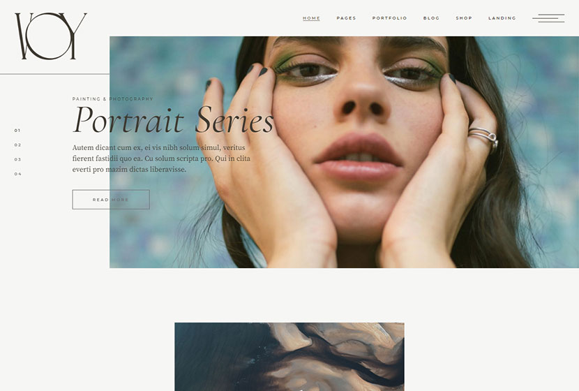 Me Voy - Photography Portfolio Theme