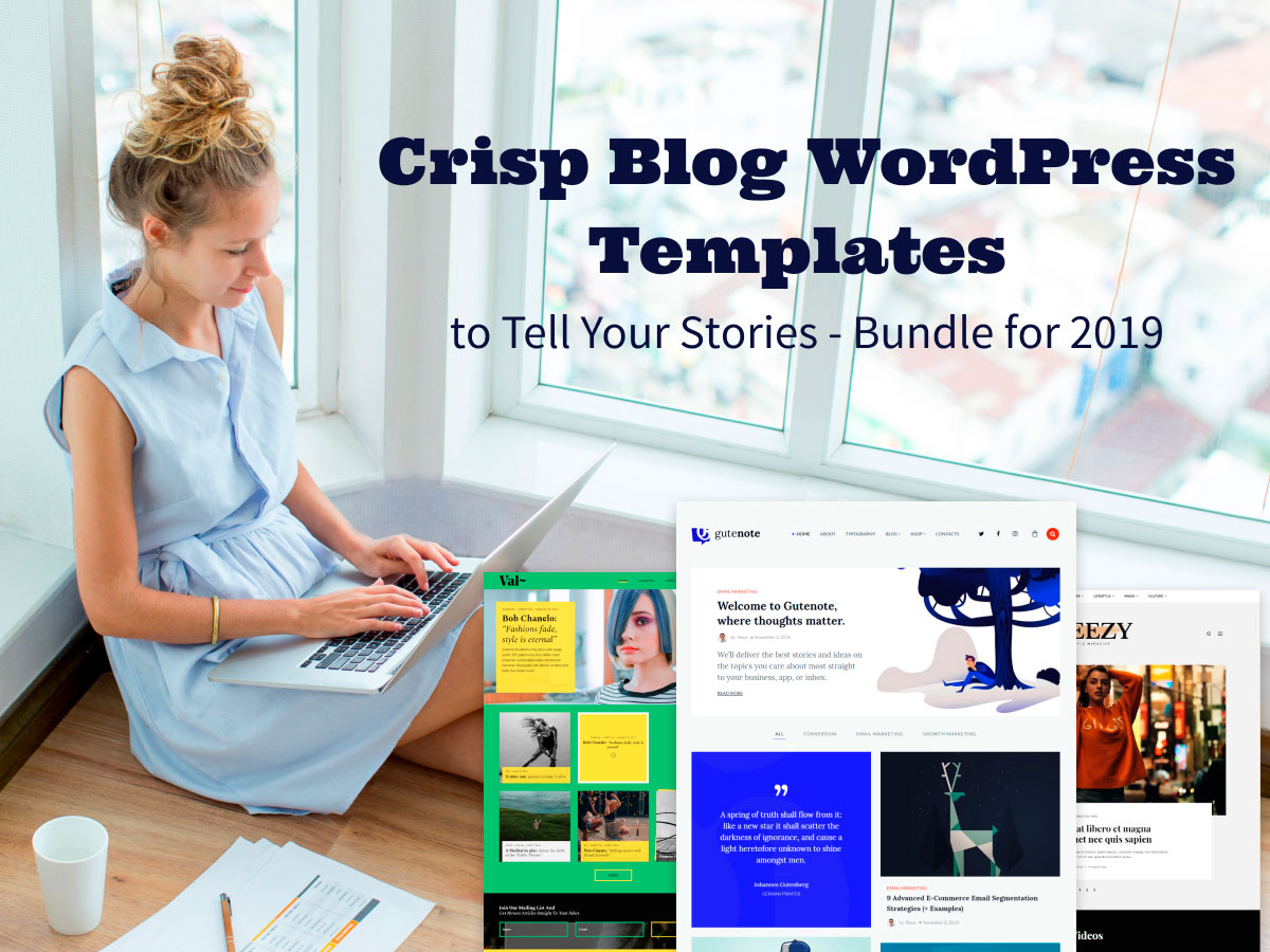 Crisp Blog WordPress Templates