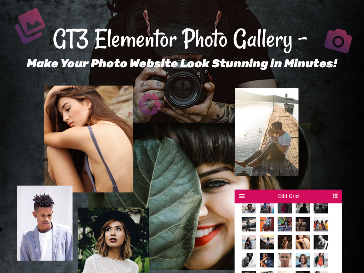 GT3 Elementor Photo Gallery - Make Your Photo Website Look Stunning in Minutes!