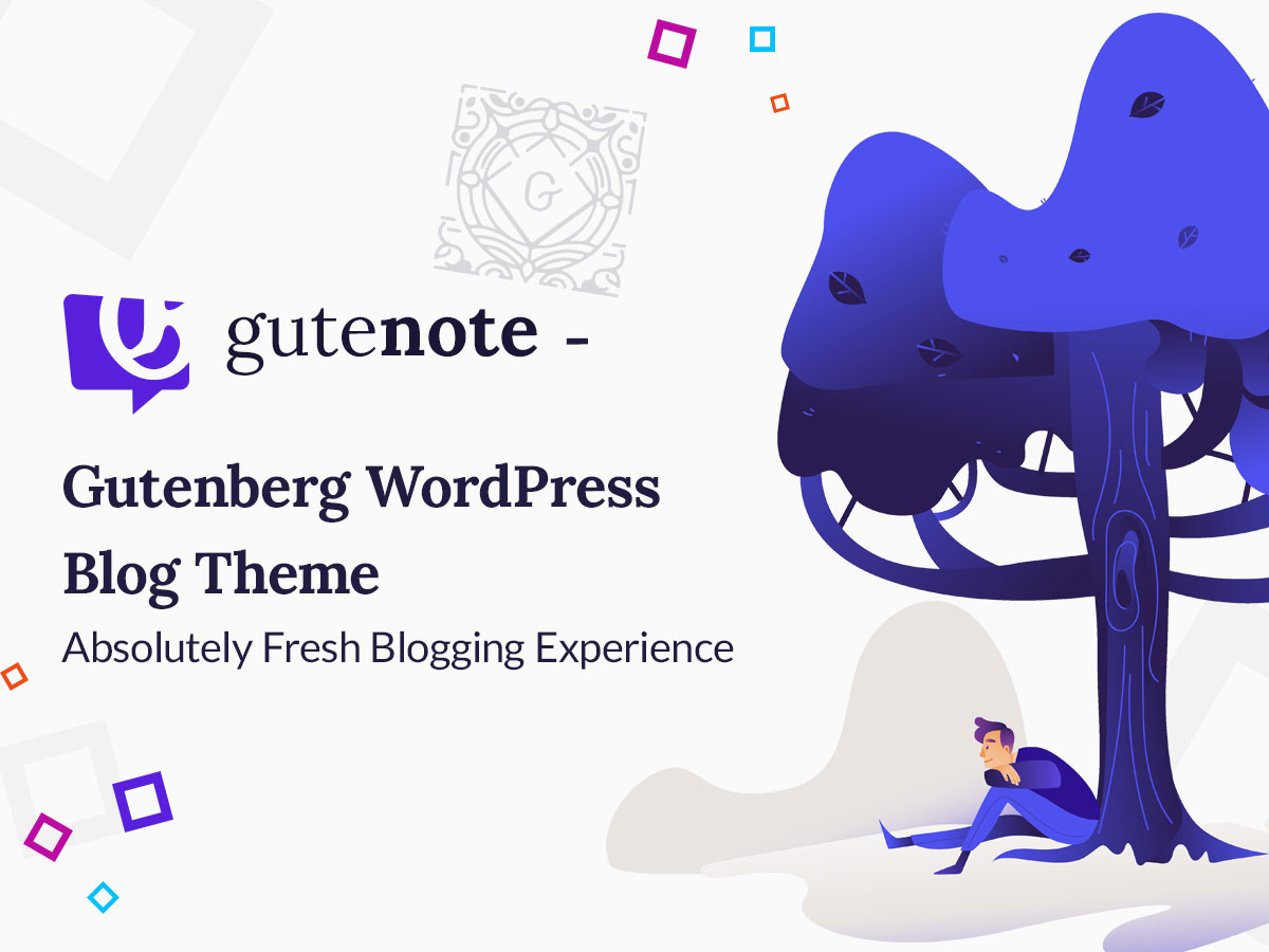 Gutenote - Gutenberg WordPress Blog Theme - Absolutely Fresh Blogging Experience 1