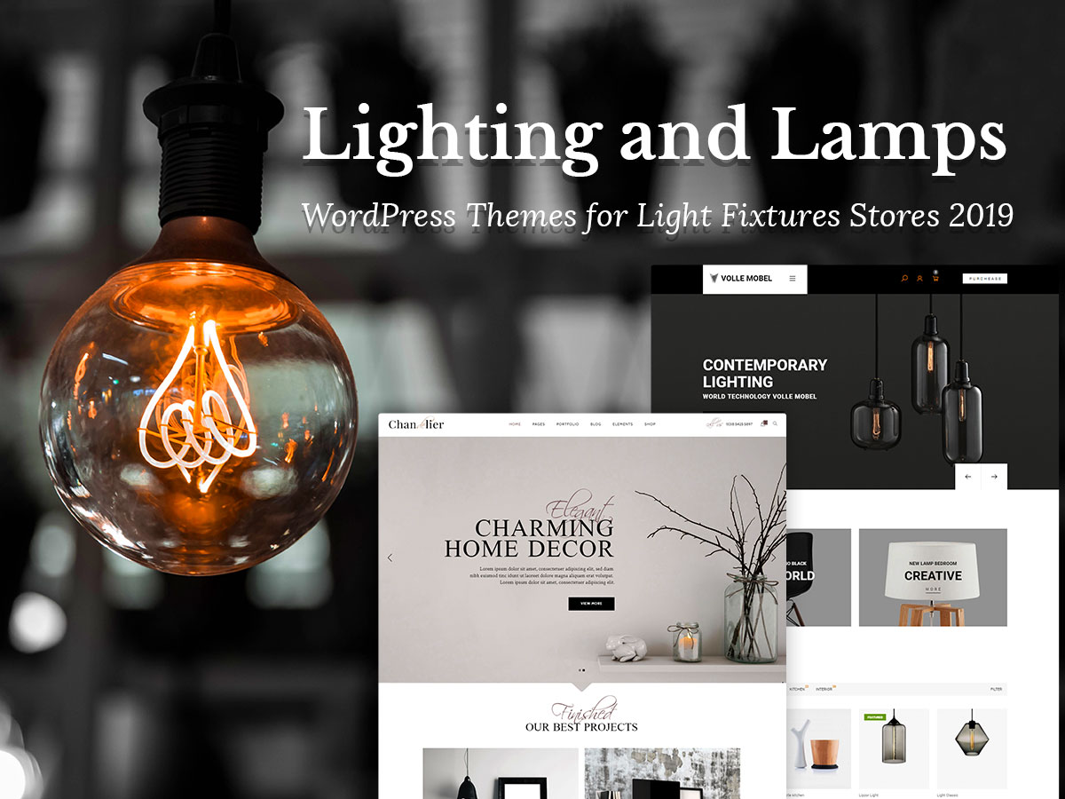 Lighting and Lamps WordPress Theme
