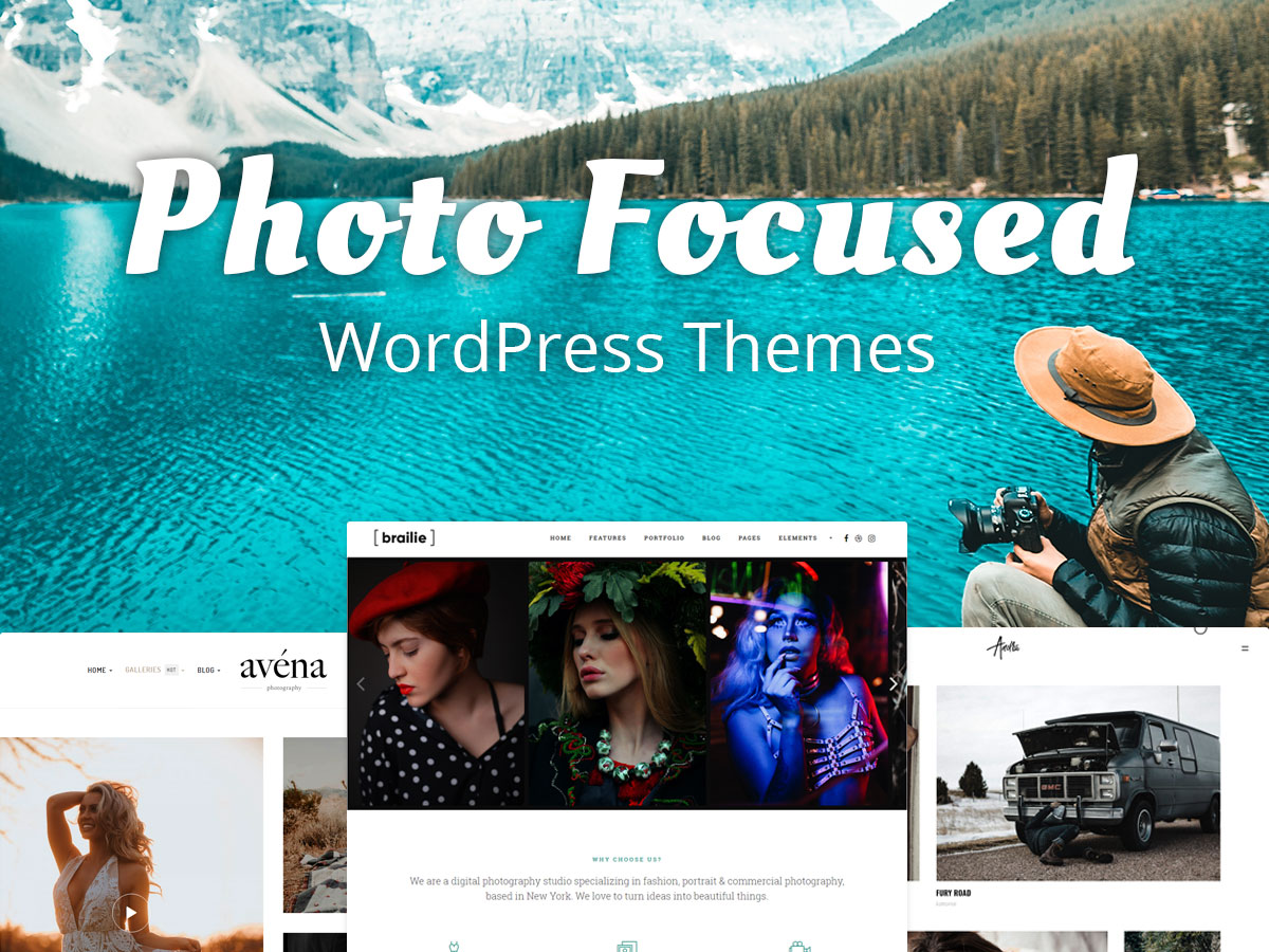 Photo Focused WordPress Themes for Everyone in Love With Camera