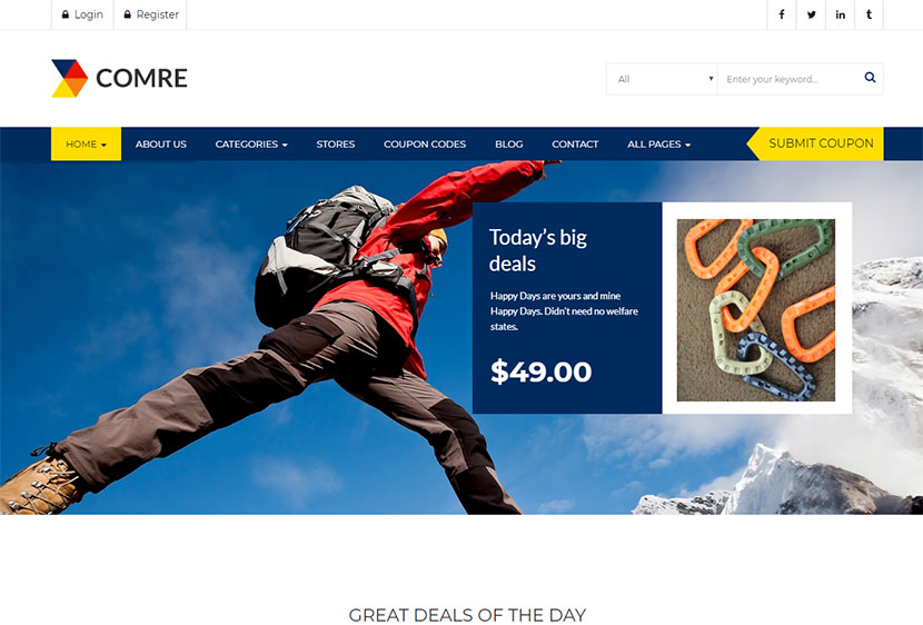 Coupons and Deals WordPress Themes - WP Daddy