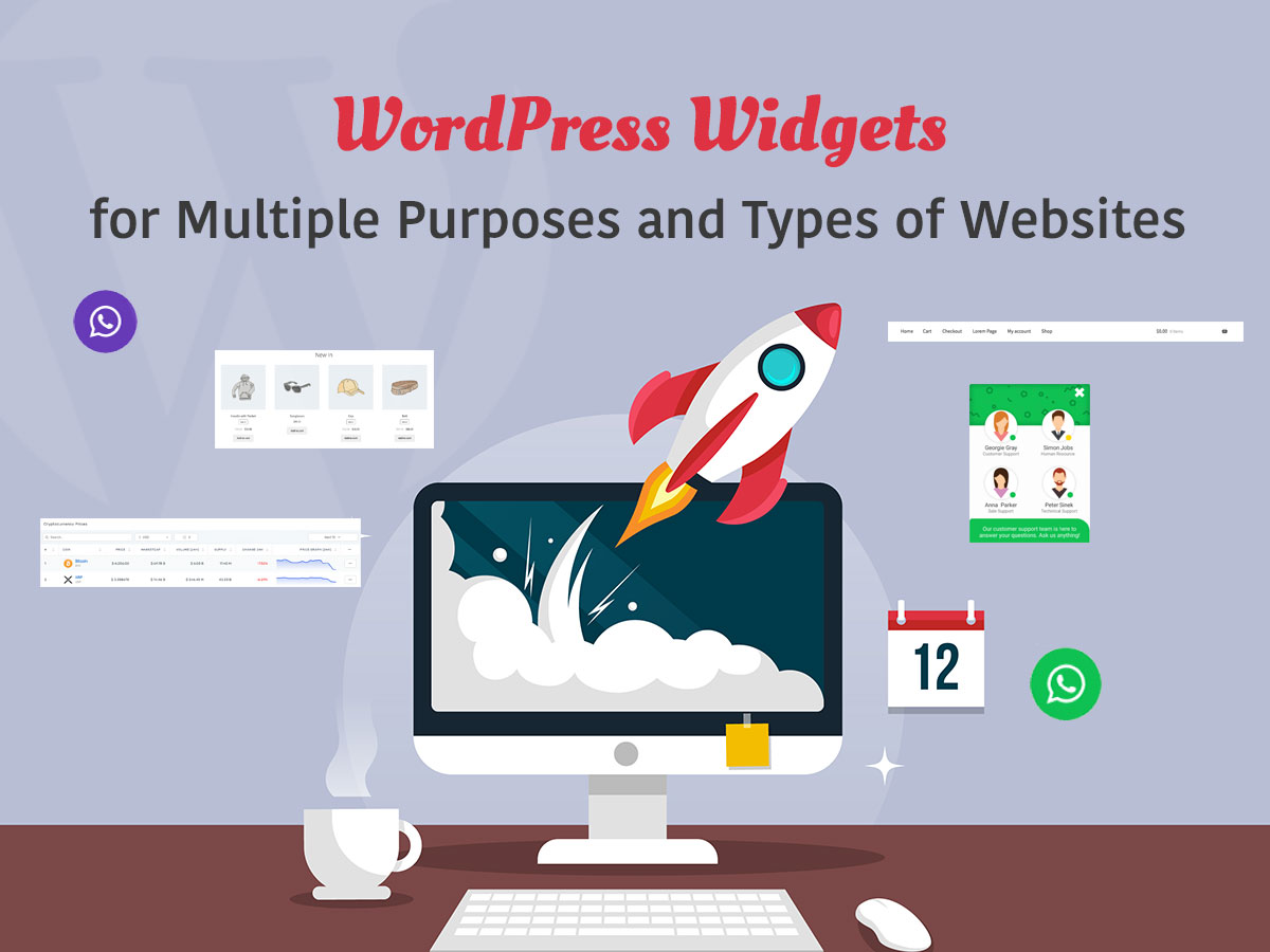 Cool WordPress Widgets for Multiple Purposes and Types of Websites