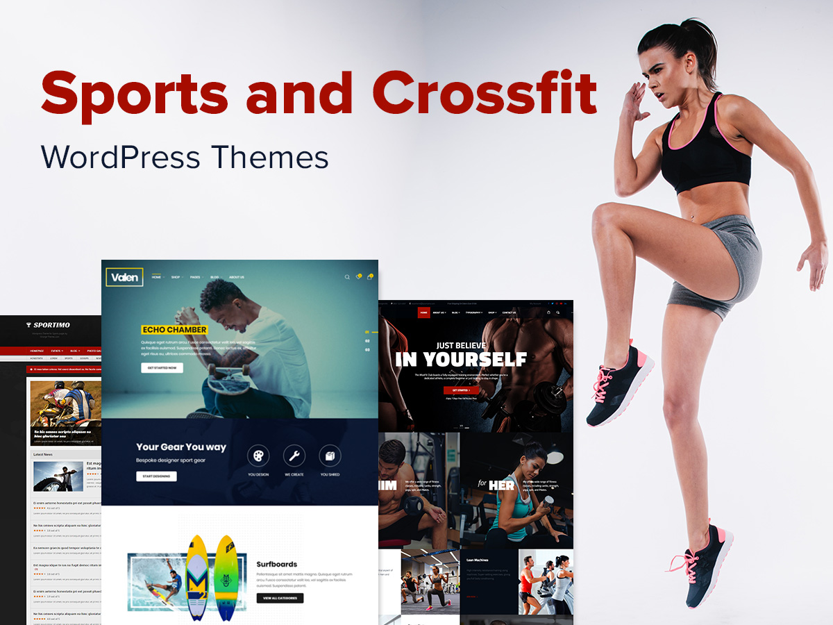 Sports and Crossfit WordPress Themes for Magazines, Online Stores and Promotional Sites