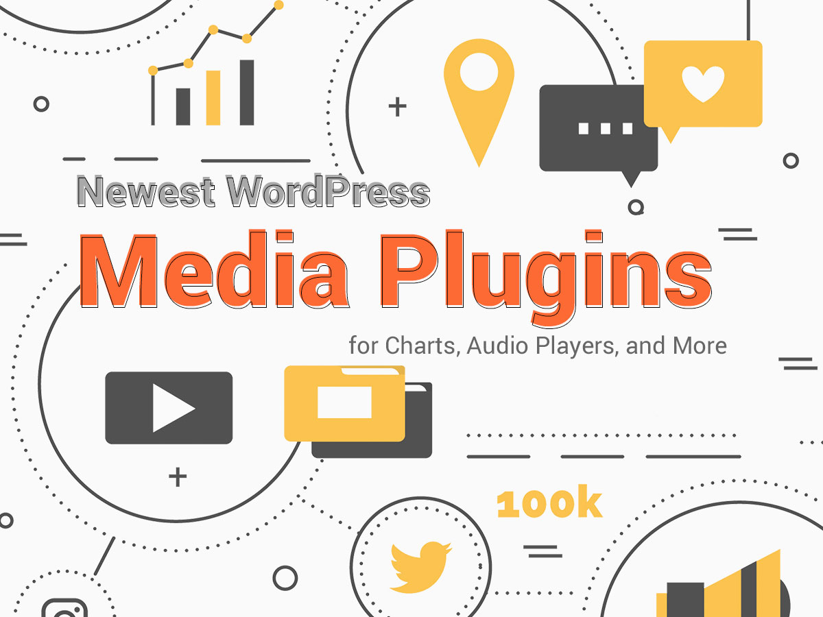 Newest WordPress Media Plugins for Charts, Audio Players, and More