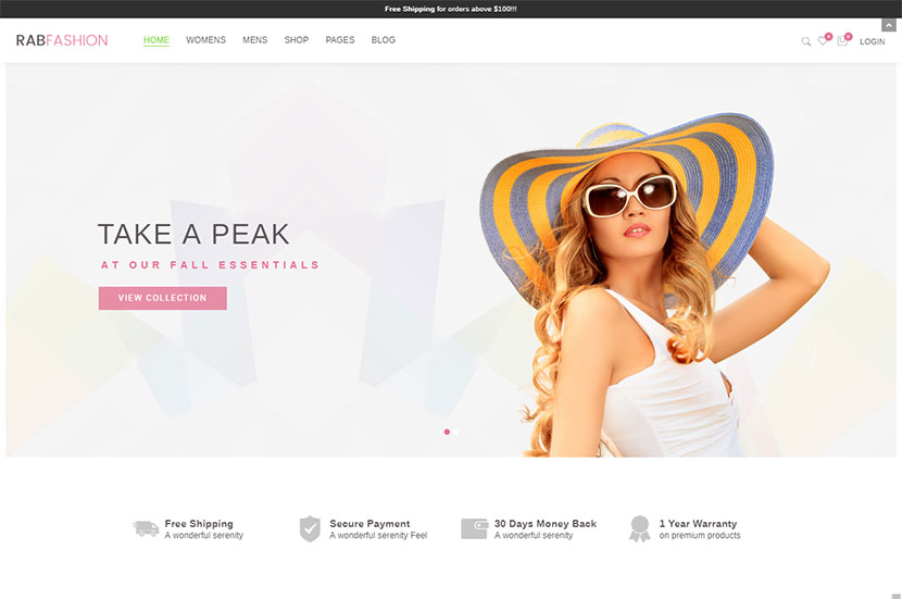 Hats, Caps and Accessories WP WooCommerce Themes - WP Daddy