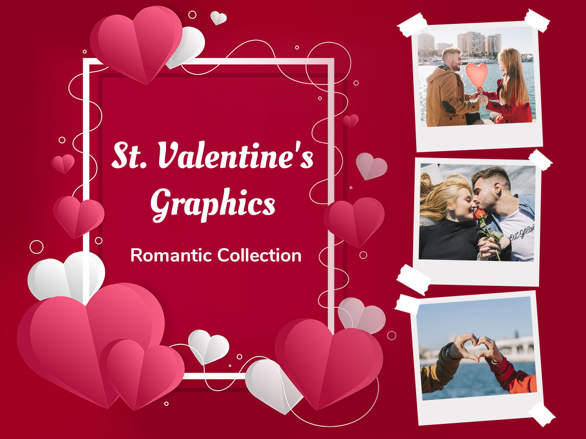 St. Valentine's Graphics - Romantic Collection