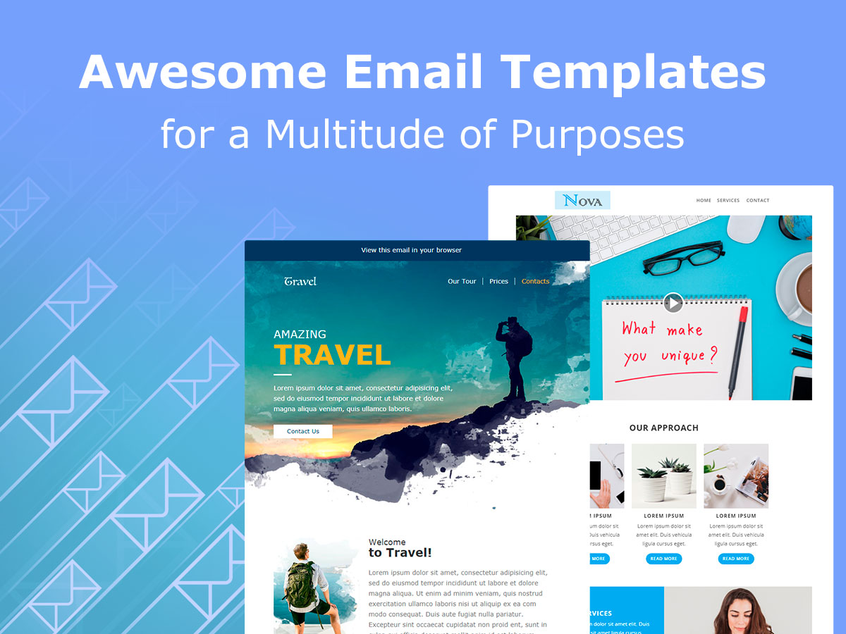 Email Templates for a Multitude of Purposes