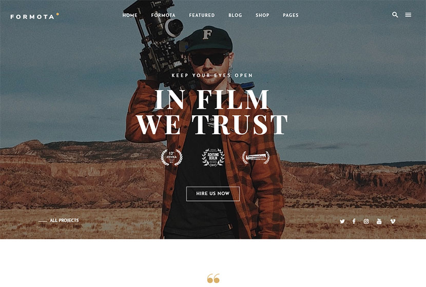 25+ Movie and Cinema WordPress Themes for Film Fans - WP Daddy