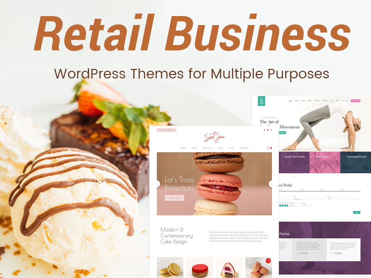 Retail Business WP Themes for Multiple Purposes