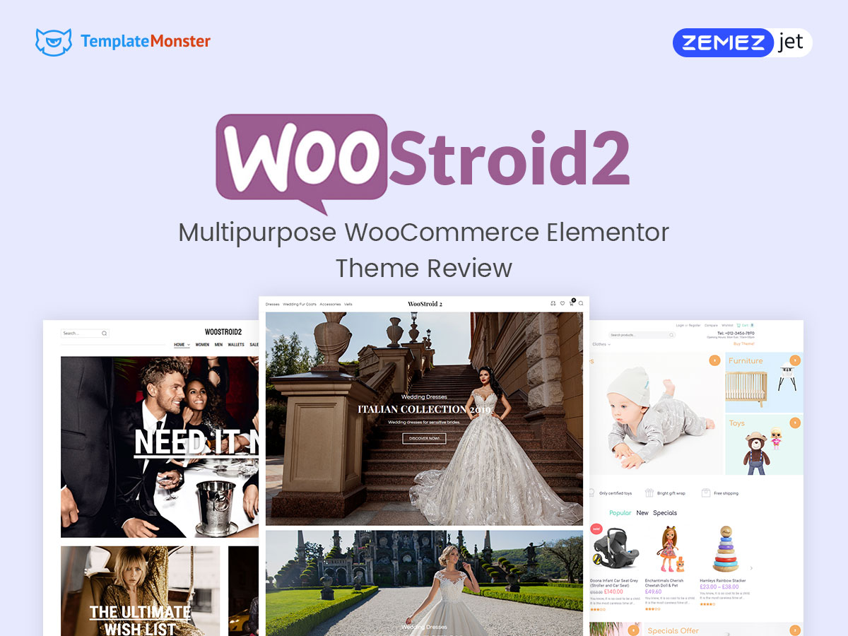 Woostroid2 - Multipurpose WooCommerce Elementor Theme Review Sell Anything on the Web