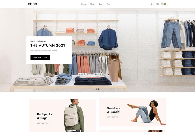 Codo - Minimalist WooCommerce Theme