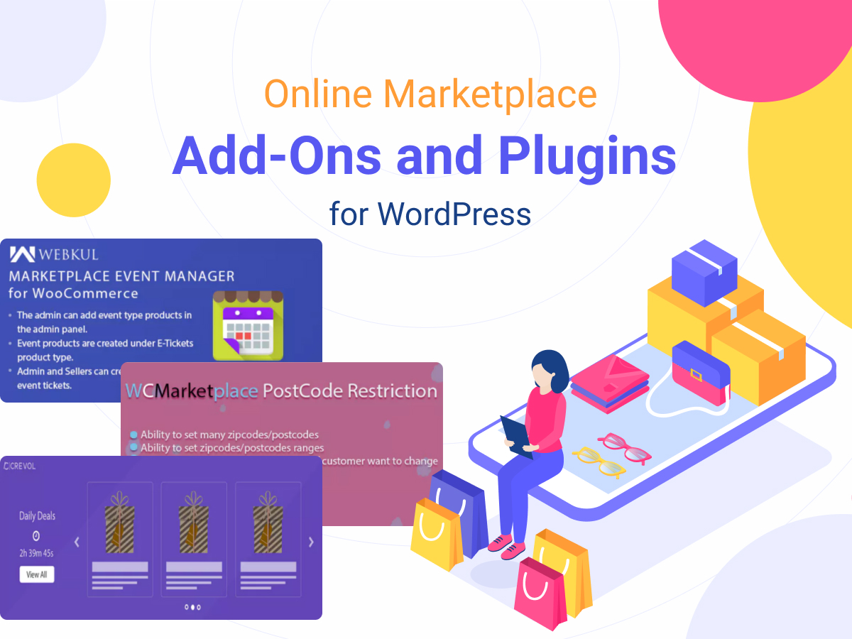 Online Marketplace Add-Ons and Plugins for WordPress