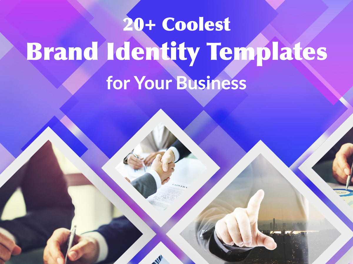 20+ Coolest Brand Identity Templates