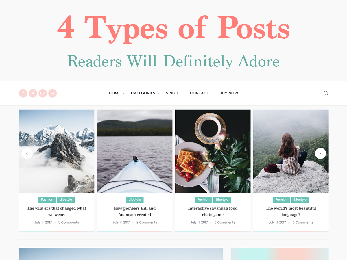 4 Types of Posts Your Blog Readers Will Definitely Adore