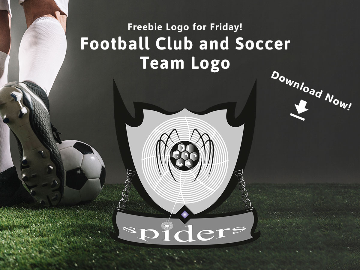 Freebie Logo for Friday! Football Club and Soccer Team Logo