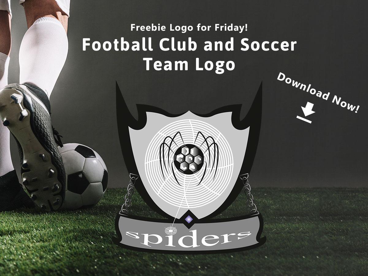 Freebie Logo for Friday! Football Club and Soccer Team Logo
