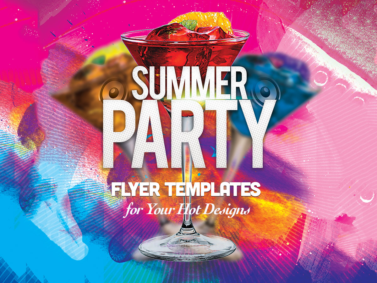 20+ Summer Party Flyer Templates for Your Hot Designs