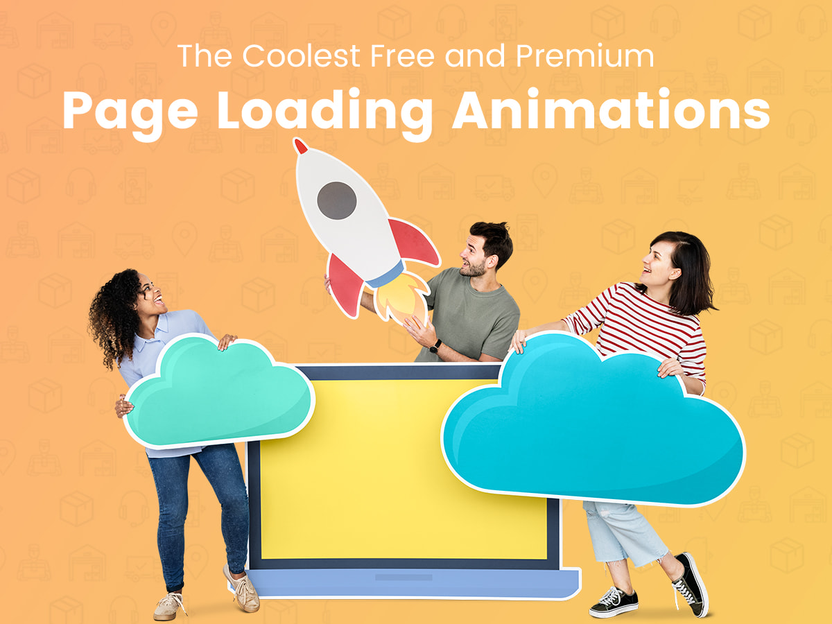 The Coolest Free and Premium Page Loading Animations for Your Various Sites