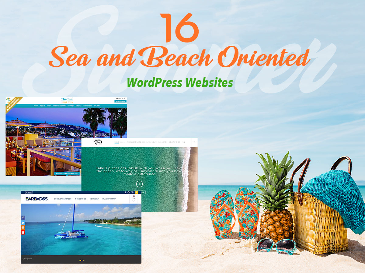 16 Sea and Beach Oriented WordPress Websites With Beautiful Designs