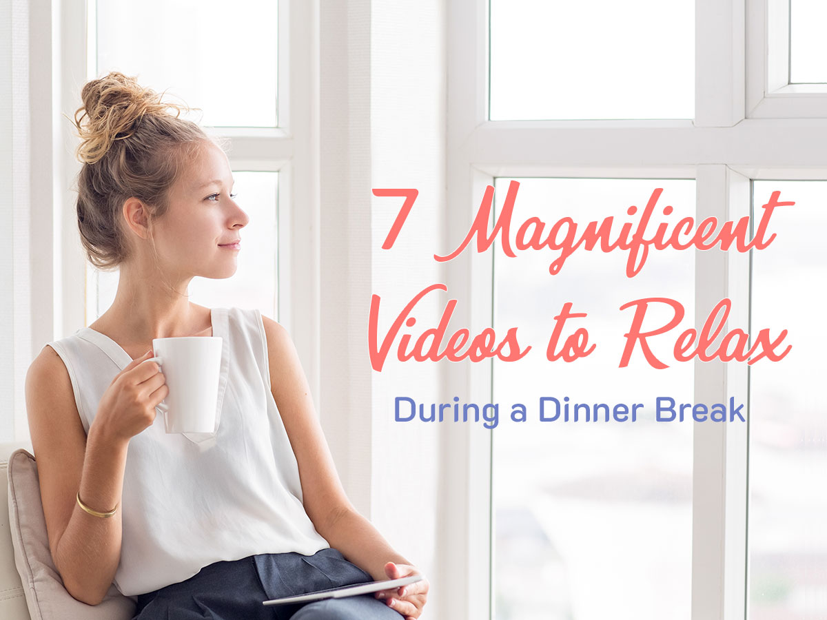 7 Magnificent Videos to Relax During a Dinner Break